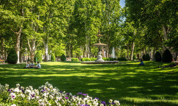 Green oases of Zagreb